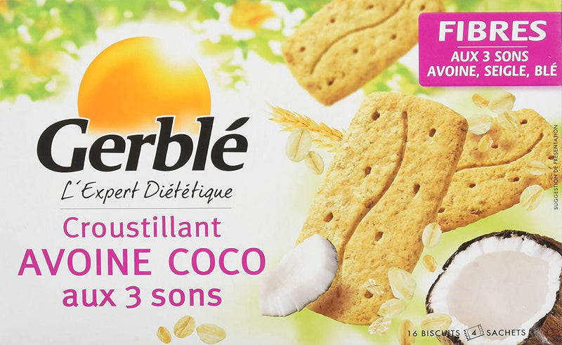 GERBLE FIBERS Oat & coconut biscuits 200G - 2071MALL