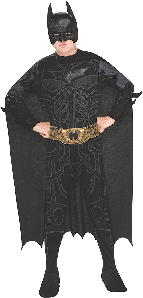 Batman Dark Knight Rises Child'S Batman Costume With Mask And Cape /Large - 2071MALL