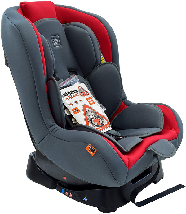 Babyauto Lolo Baby Car Seat, From Birth to 4 Years, From 9kg to 18 Kg-Red, BA312074