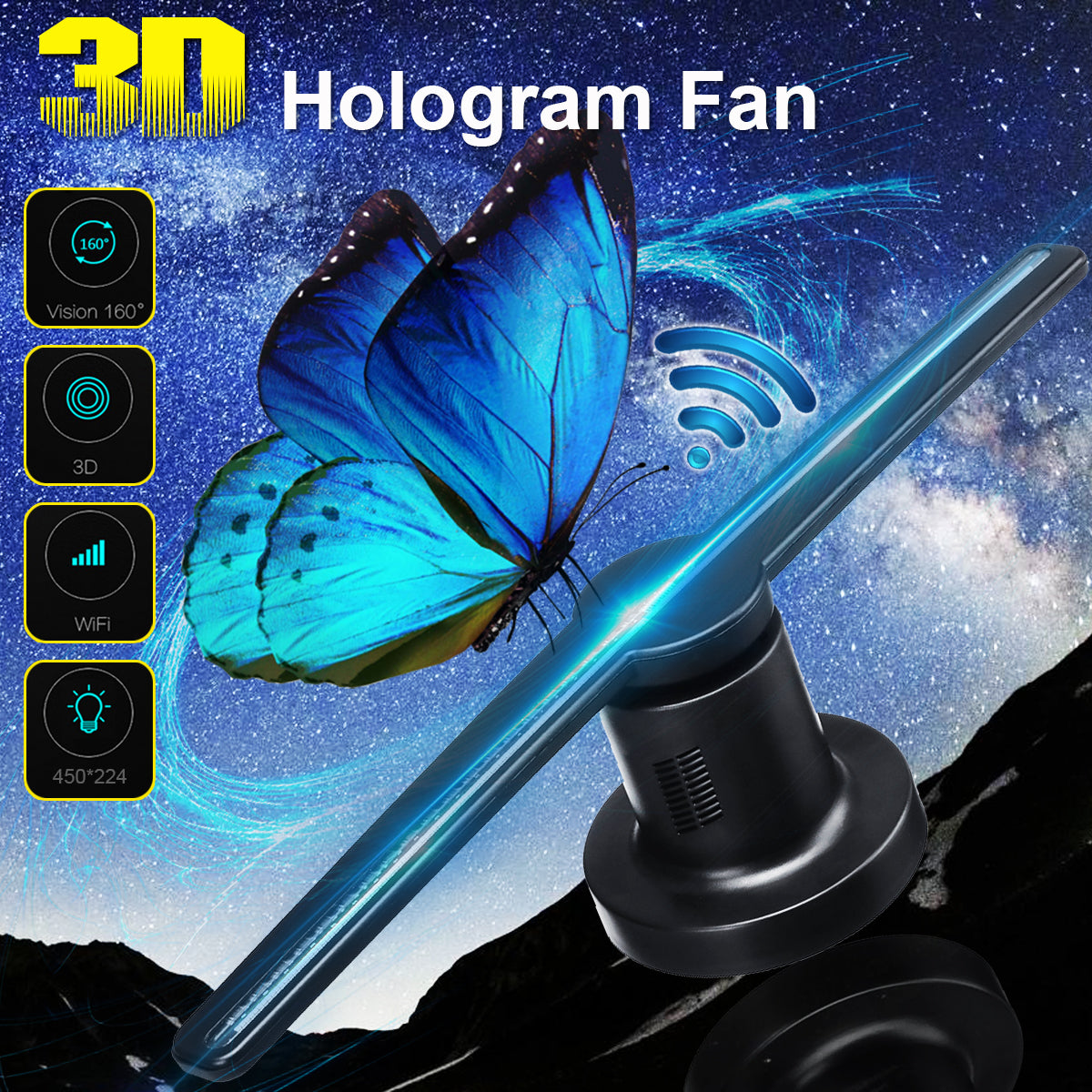 Z3 Hologram Fan - 2071MALL