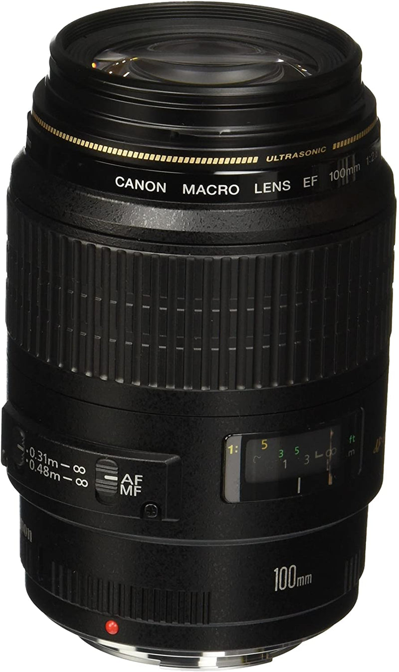 Canon EF 100mm f/2.8 Macro USM /Fixed Lens for Canon SLR Cameras /4657A006/B00004XOM3 - 2071MALL