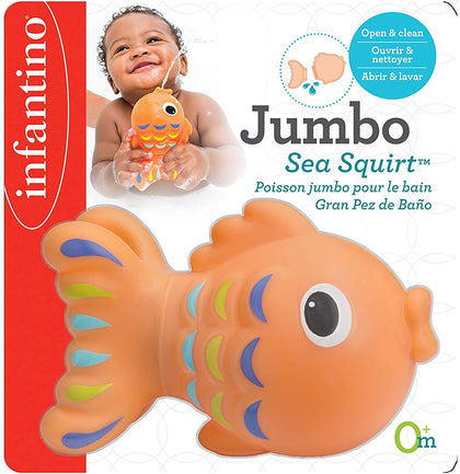 Infantino Jumbo Sea Squirt - Fish, IN205033 - 2071MALL