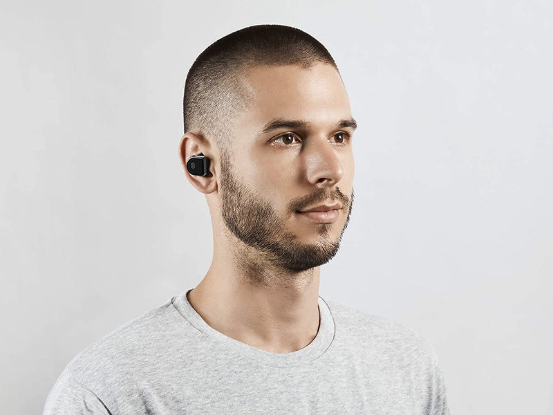 Master & Dynamic Mw07 Original True Wireless Earphones - Bluetooth Enabled Noise Isolating Earbuds - Lightweight Quality Earbuds For Music - Piano Black - 2071MALL