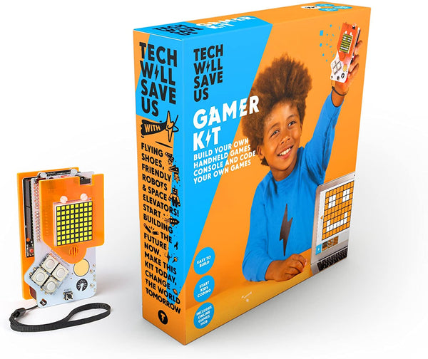 Tech Will Save Us, Gamer Kit (Ready-Soldered) | Educational Stem Toy - Multi-Color, 300783 - 2071MALL