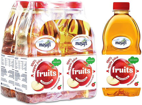 MASAFI Apple Juice 2 Liter - 2071MALL