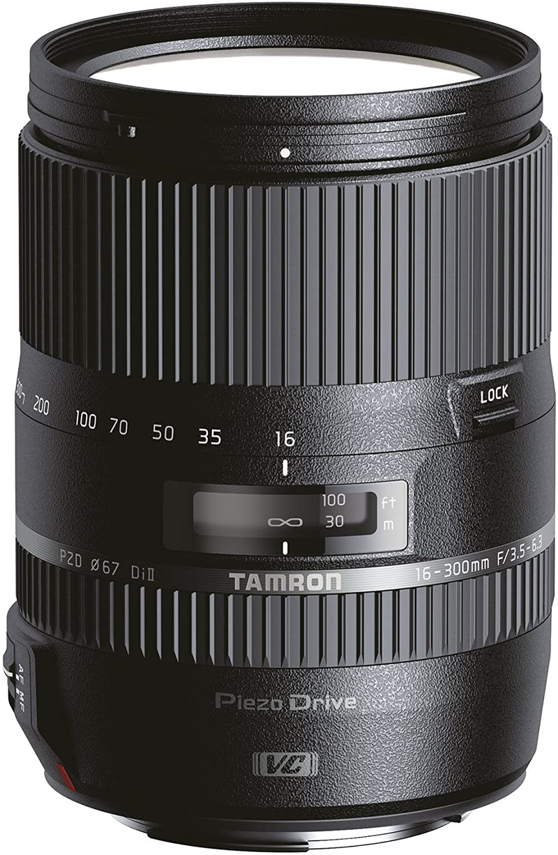 Tamron 16-300mm F/3.5-6.3 Di II VC PZD Macro (Black) for Nikon - 2071MALL