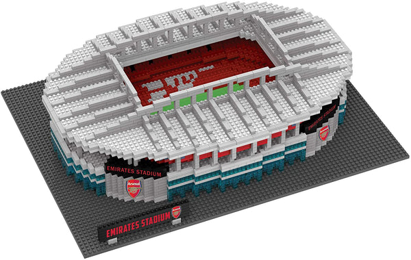 Foco Brxlz Football Stadium Building Sets 3D Construction Toys - Arsenal - 2071MALL