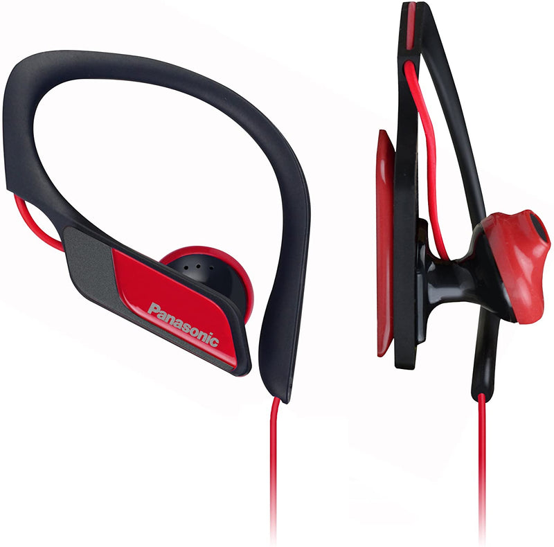 Panasonic Panasonic RP-HS34E-R RED Sport Headphones RPHS34 - 2071MALL