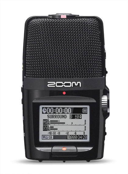 Zoom H2n Handy Recorder Portable Digital Audio Recorder - 2071MALL