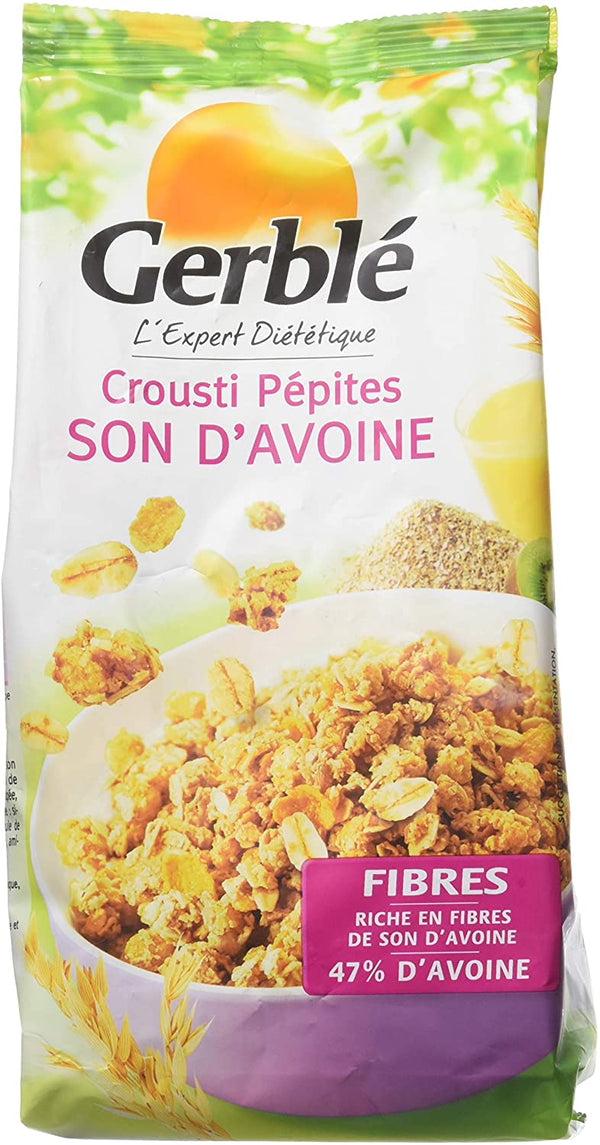 GERBLE Crispy chips of oat bran 375G - 2071MALL