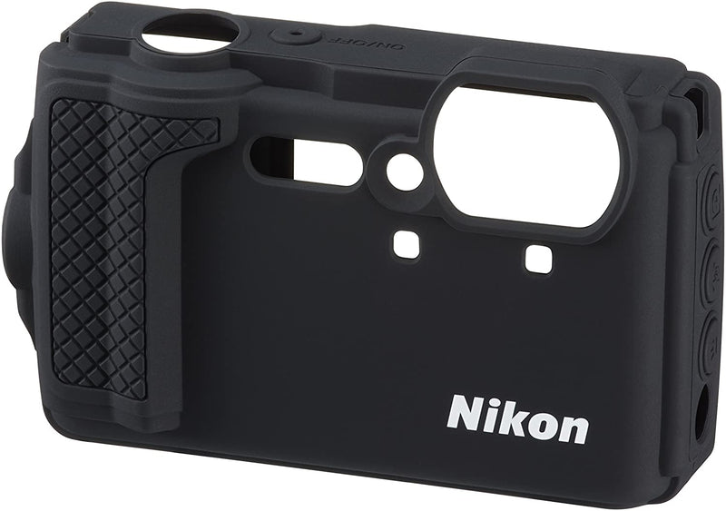 Nikon CF-CP3 Silicone Jacket (Black) for Coolpix W300/B071XJL2QT - 2071MALL