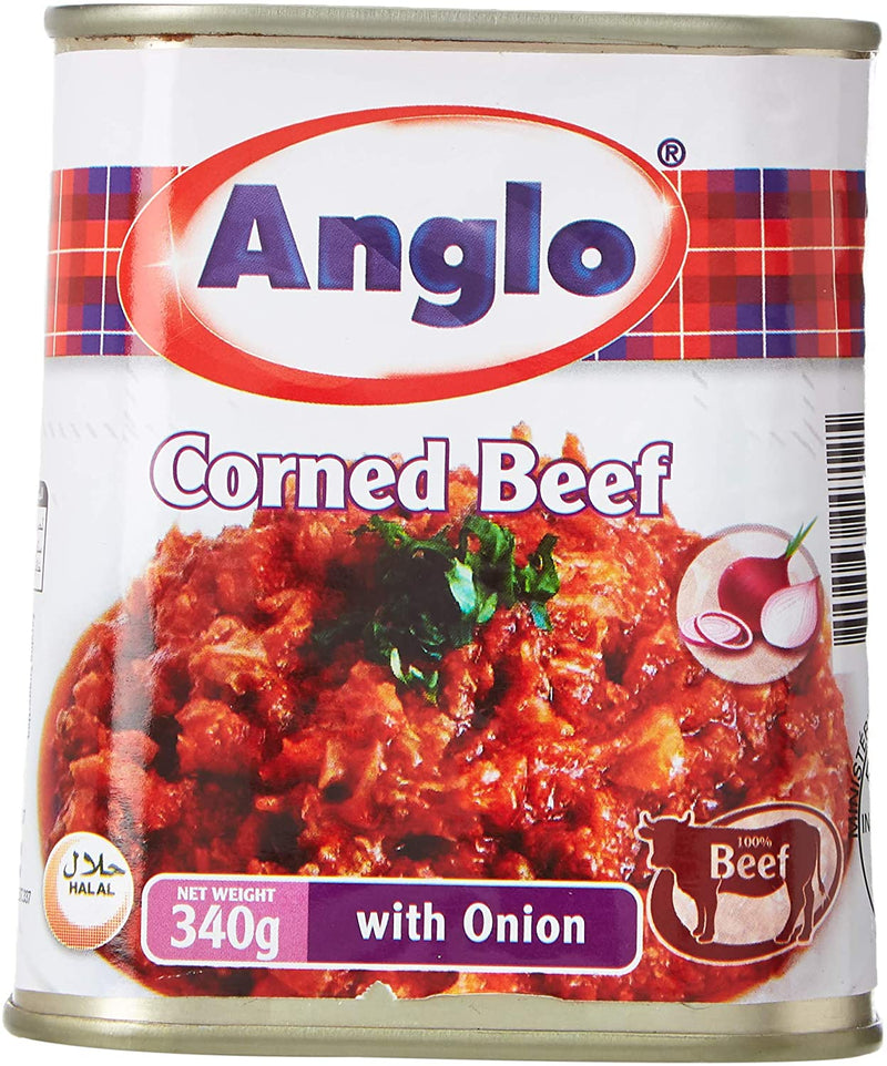 Anglo Corned Beef with Onion, 340g - 2071MALL
