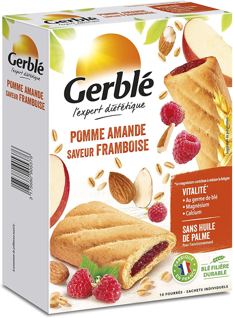 GERBLE VITALITY Apple raspberries & almond biscuits 200G - 2071MALL