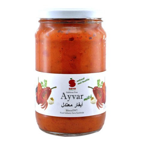 Sava Ayvar Chutney Relish Mild 370ml - 2071MALL
