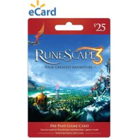 Jagex Runescape eCodes $25 US Dollar (USD)/- Instant Delivery (Prepaid Only) - 2071MALL