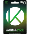Karma Koin Canada $50 Canadian Dollar (CAD)/- Instant Delivery (Prepaid Only) - 2071MALL