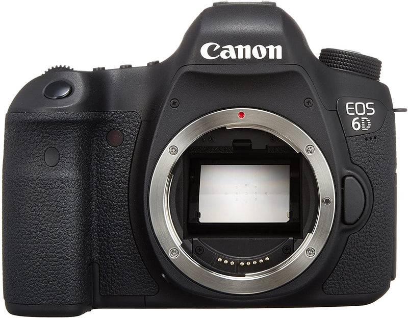 Canon EOS 6D Body Only /20.2 MP/SLR Camera/Black/B009C6VADE - 2071MALL