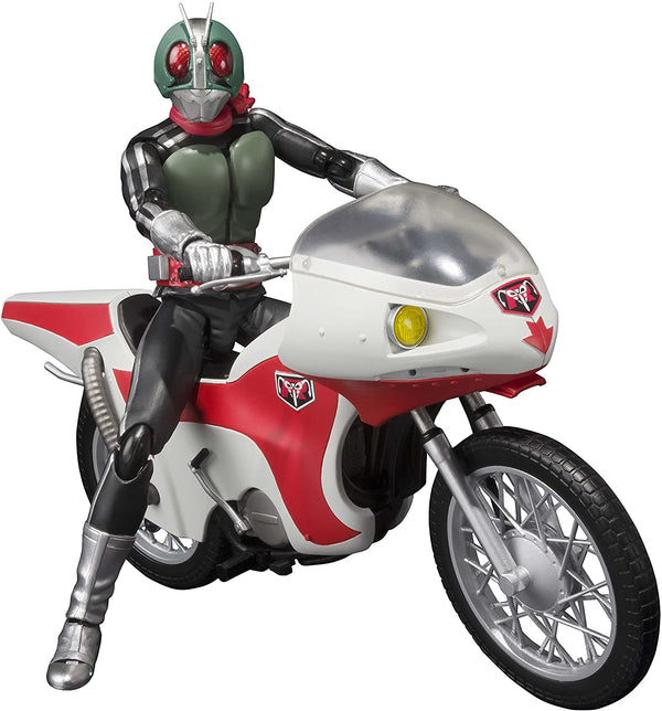 Bandai Tamashii Nations S.H.Figuarts Masked Rider New 1 And New Cyclone Masked Rider Action Figure - 2071MALL