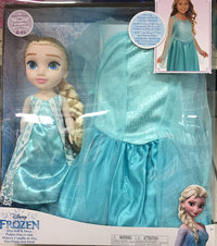 Frozen Elsa Doll+Dress Edition