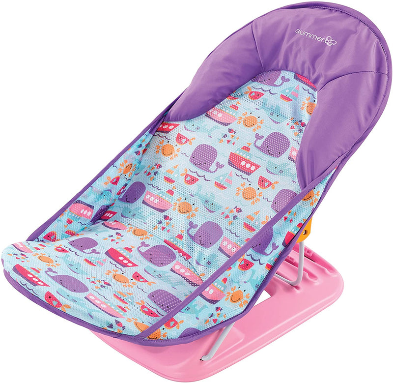 Summer Infant Deluxe Baby Bather  - Dolphin Dive - 2071MALL