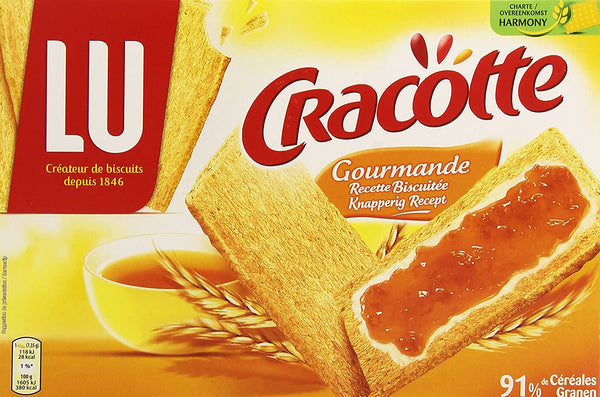 LU Cracotte Gourmande Dry Bread - 250 g