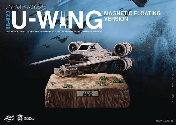 Beast Kingdom Star Wars Rogue One: Egg Attack Ea-027 U-Wing Magnetic Floating Vehicle - 2071MALL