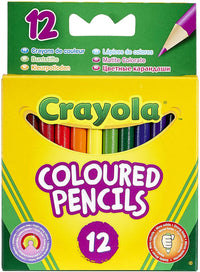 Crayola 12 Ct Colored Pencils - Multicolor, 5010065041127 - 2071MALL