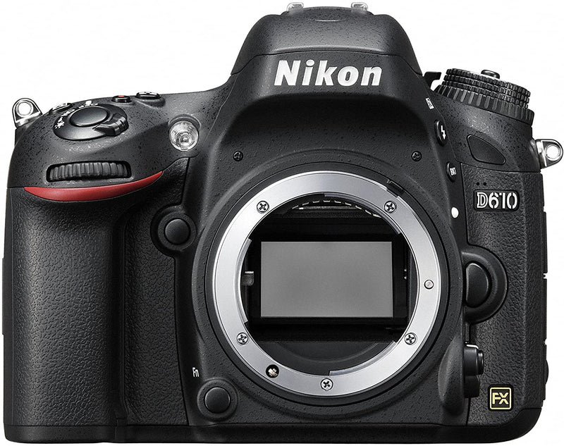 Nikon D610 Body Only - 24.3 MP, SLR Camera, Black - 2071MALL