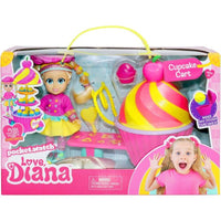 Love Diana Doll Mini Food Stall Playset