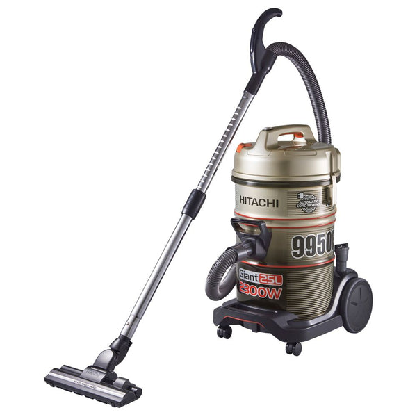 Hitachi 2300 Watts Drum Vacuum Cleaner, CV9950FCJ240 Champagne Metallic - 2071MALL