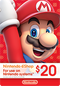 Nintendo Canada $20 Canadian Dollar (CAD) - Account details will be sent via email within 24 - 48 hours. Prepaid Only - 2071MALL