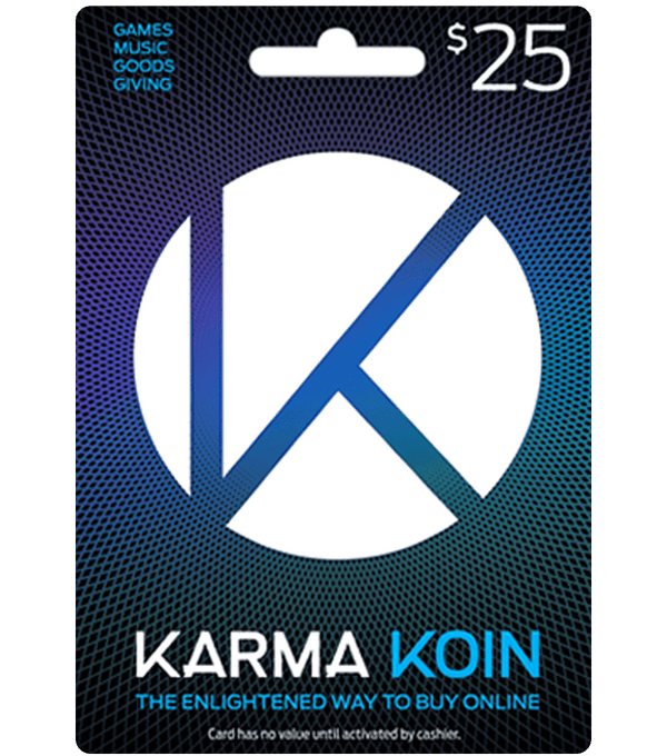 Karma Koin United States $25 US Dollar (USD)/Account details will be sent via email within 24 - 48 hours. Prepaid Only - 2071MALL