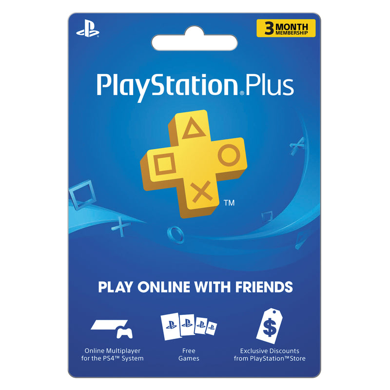 Sony Playstation PSN Plus 3 Month Subscription - 2071MALL