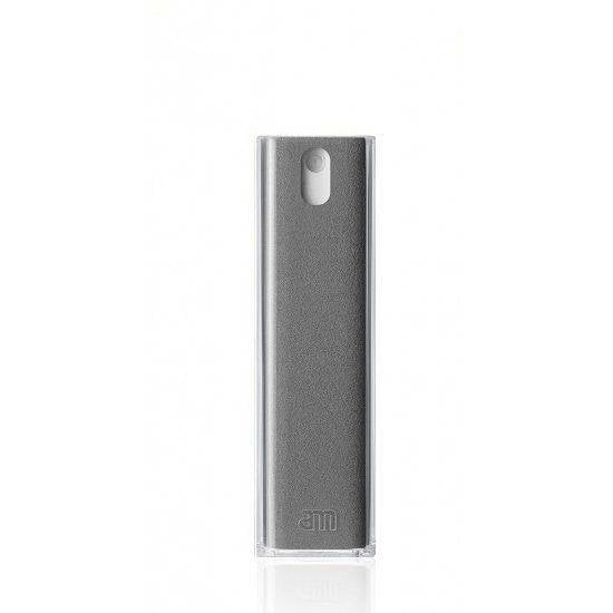 Get Clean AM - Mist - Refillable Two-In-One Spray and Microfiber Cloth for Mobile Devices 10.5ml - Grey - 2071MALL