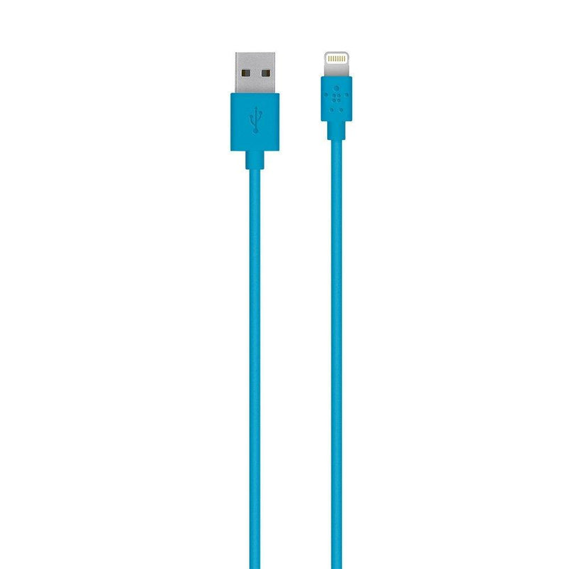Belkin Lightning Charge & Sync Cable 1.2M - Blue, BKN-F8J023BT04-BLU - 2071MALL
