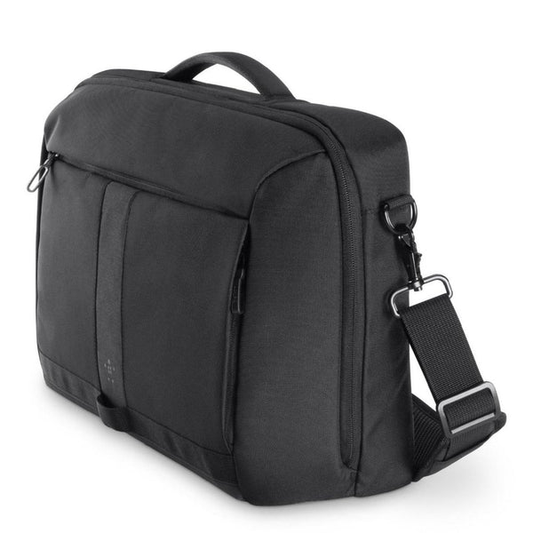 "Belkin Active Pro 15.6"" Messenger Bag - Black - 2071MALL"