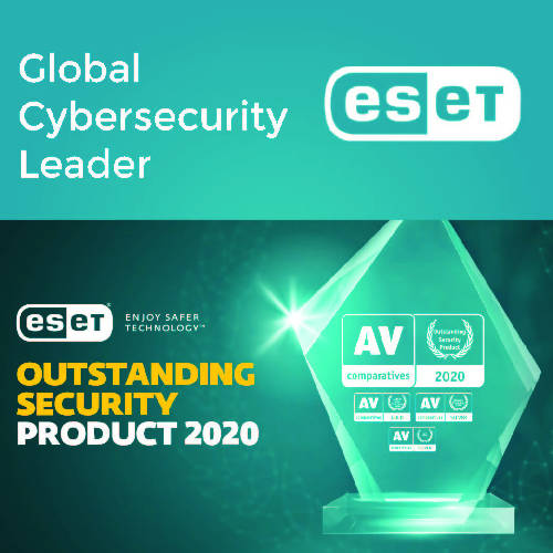 ESET NOD 32 & Internet Security (2 in 1 package) - 5 PC - 3 Year - 2071MALL