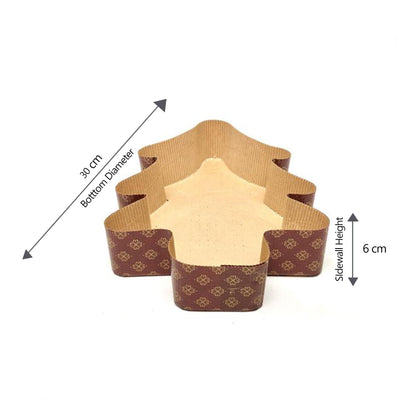 Hotpack | Baking Mold Tree Shape 30x6 cm | 440 Pieces - 2071MALL