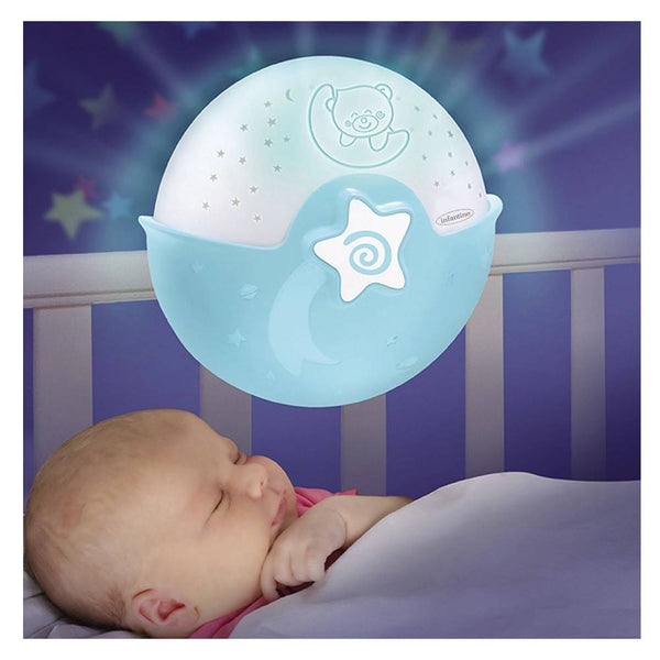 Infantino Wom Soothing Light & Projector(Blue)