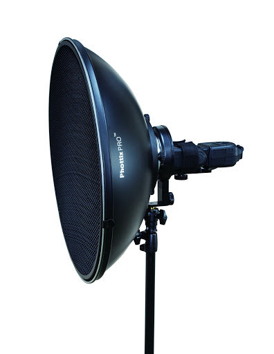 "Phottix Beauty Dish MK II with Bowens Speed Ring (51cm, 20"", Silver) - 2071MALL"