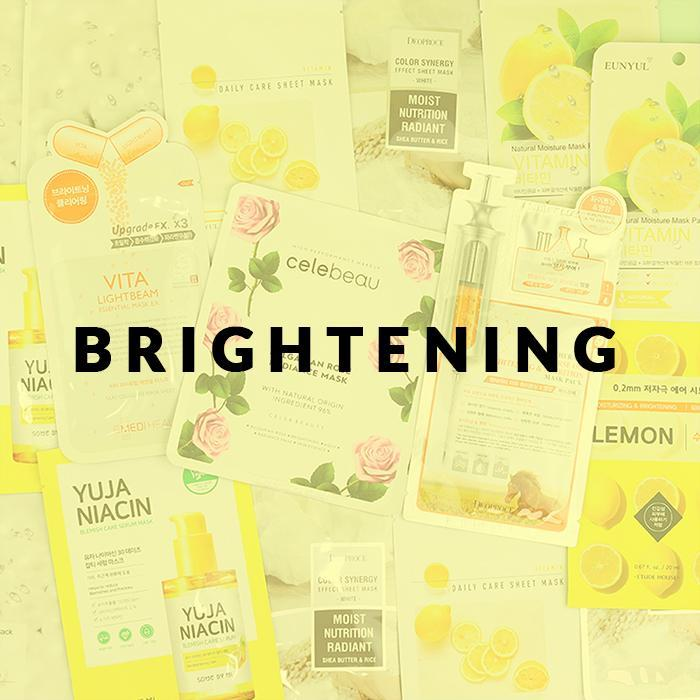 [Sale] Brightening & Glow MASK Set, 18 sheet masks - 2071MALL