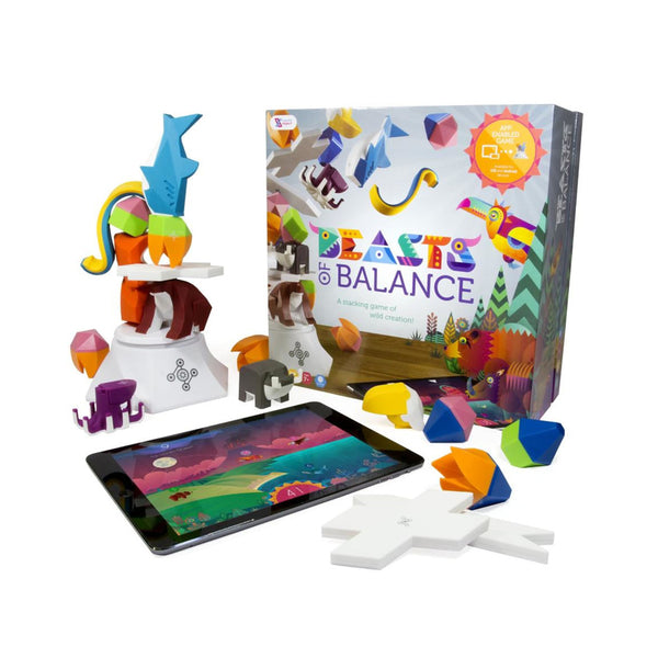 Beasts of Balance  A Digital Tabletop Hybrid Family Stacking Game For Ages 7+ - Multi, BOB-COR-WW-2/GEN - 2071MALL