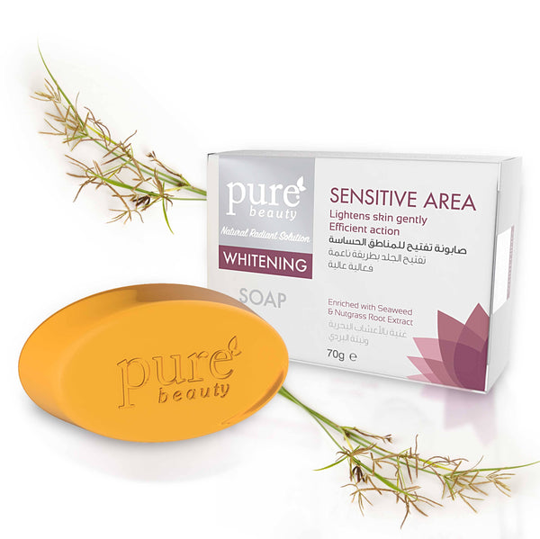 Pure Beauty - Whitening Glycerin Soap For Sensitive Area 70g