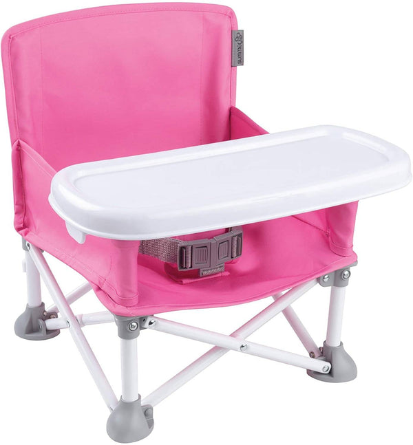 Summer Infant Pop 'N Sit® Portable Booster (Pink)