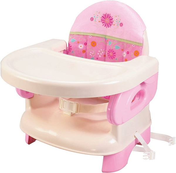 Summer Infant Deluxe Comfort Folding Booster Seat -Pink Happiness