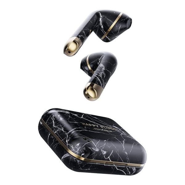 Happy Plugs - Air 1 True Wireless Earbuds - limited Edition -HP-1620 Black Marble