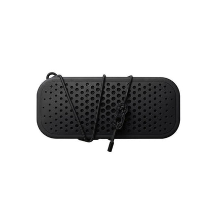 Boompods - 32W Waterproof Shockproof Bluetooth Speaker with Bungee Strap - Black, BP-BBBLK - 2071MALL
