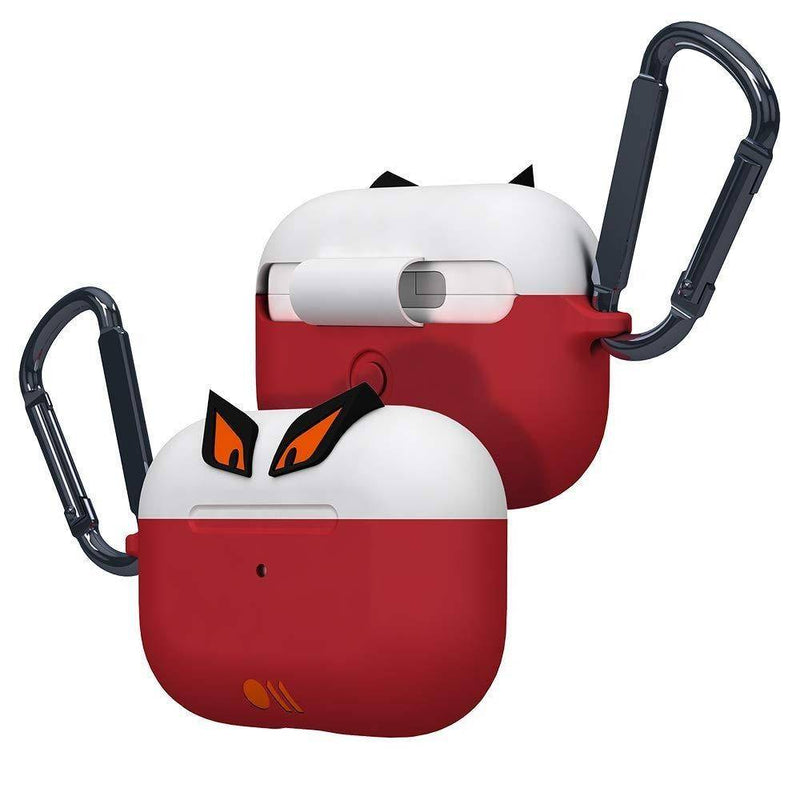 Case-Mate - Airpods Pro Case - CreaturePods - Edge The Bad Boy - White/Red, CM-CM042096 - 2071MALL