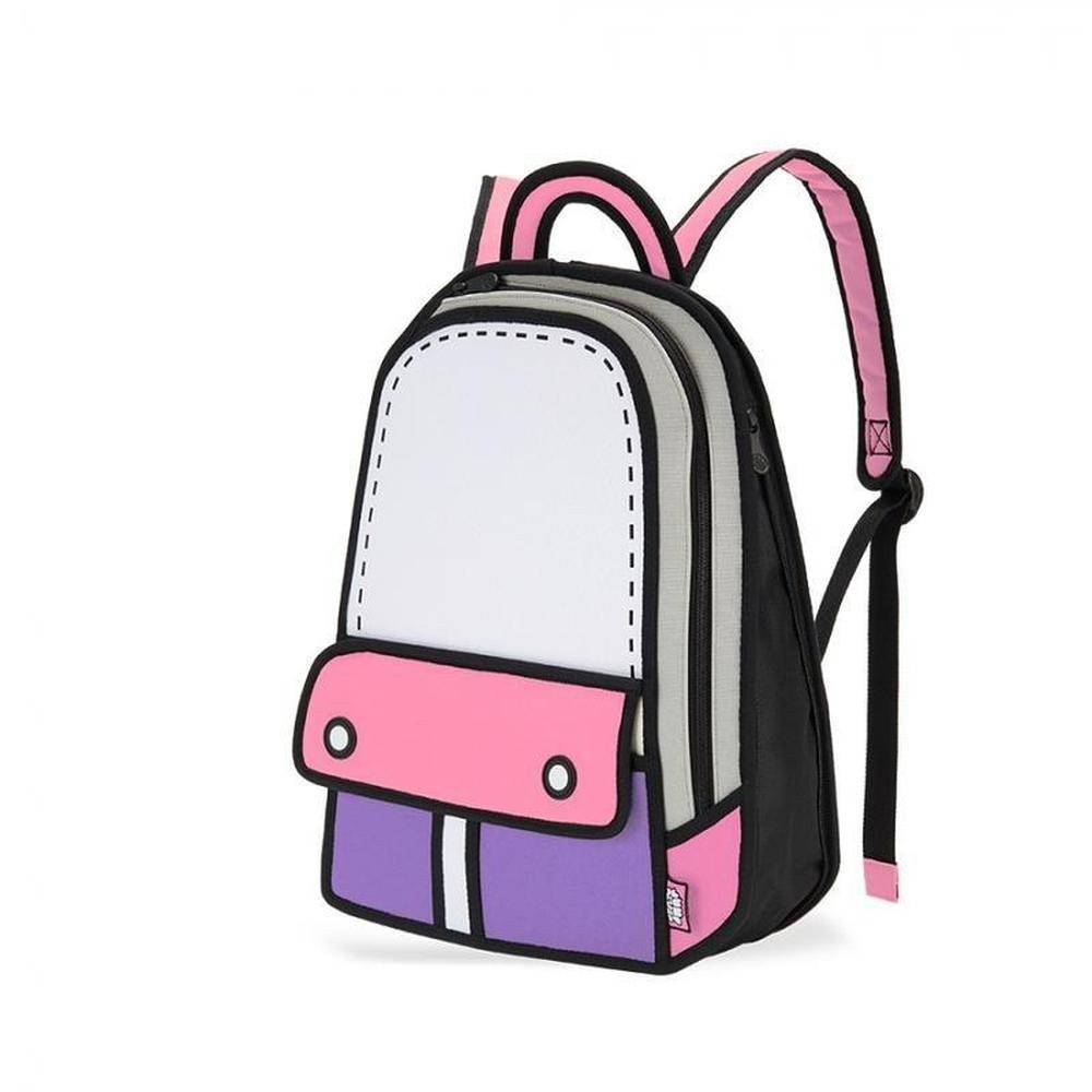 Jump From Paper - Adventure Backpack - Pink, 13 inch, JFP-086 - 2071MALL