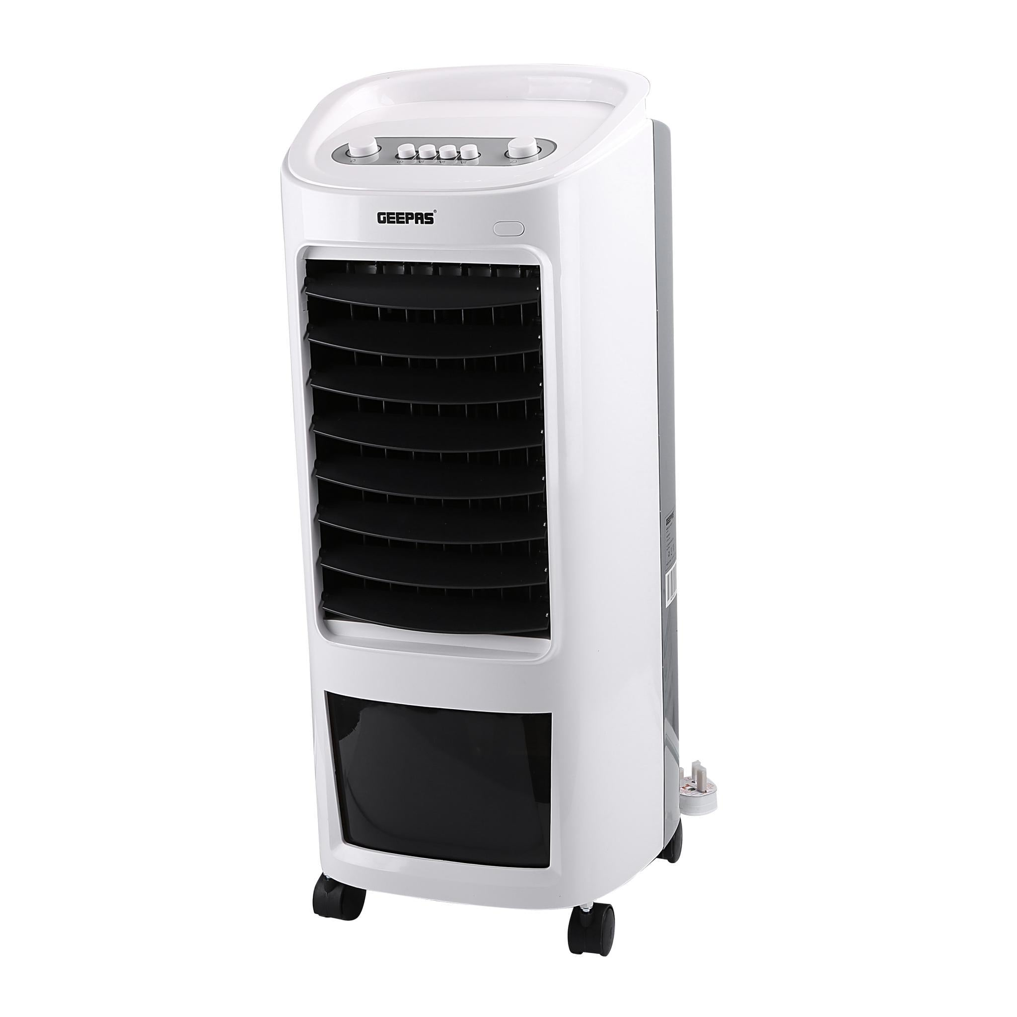 Geepas Air Cooler 7L 3 Speed Honey Comb Cooling 1x1 - White,GAC9576 - 2071MALL